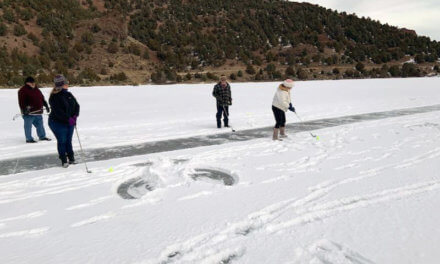 Spring Valley State Park hosts annual Ice Hole Golf event