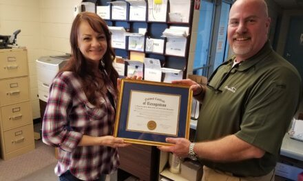 Sheriff's office employee receives national recognition for excellence in managing sex offender registry