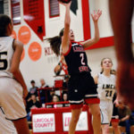Lincoln County girls pick up another league win