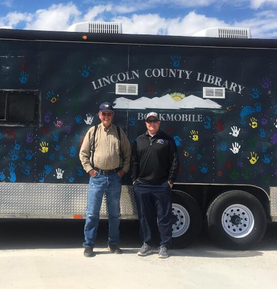 Lincoln County bookmobile planning summer program