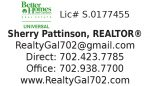 Sherry Pattinson, REALTOR (Lic# S.0177455LLC) – Better Homes and Gardens Real Estate – Universal