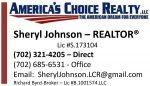 America's Choice Realty – Sheryl Johnson